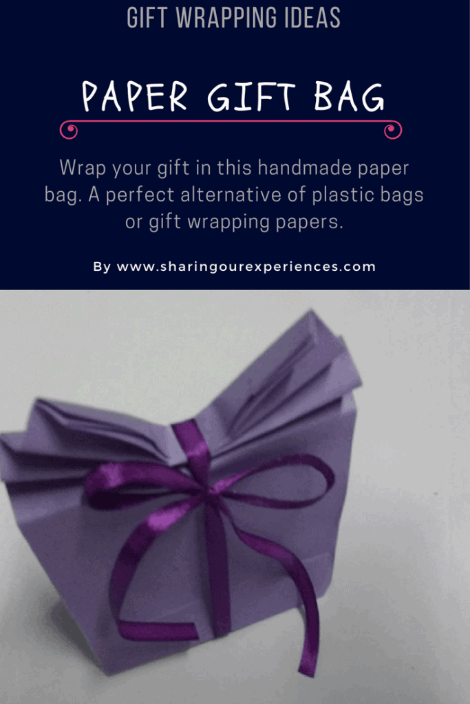 How To Make A Paper Gift Bag At Home Sharing Our Experiences