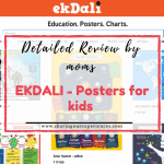 Review Ekdali posters for kids