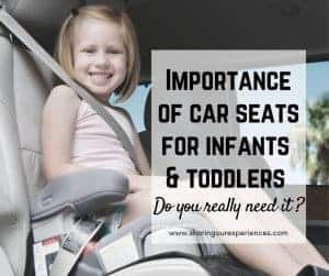 importance of car seat for infants and toddlers