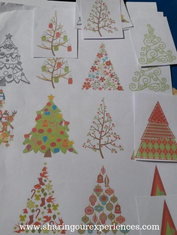 Christmas themed activity for kids