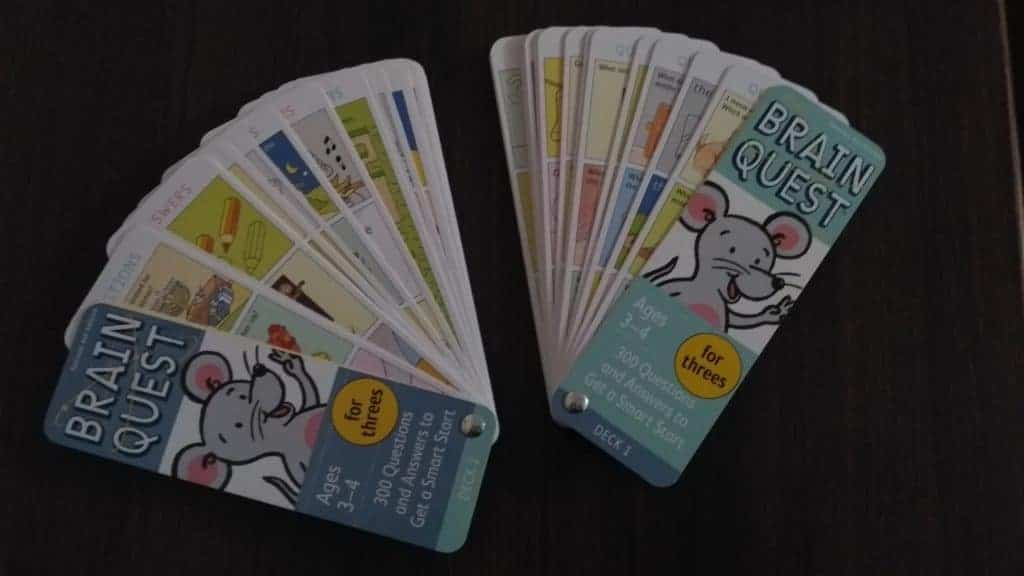 Brain quest cards review