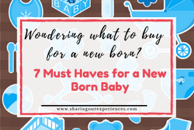 7 must haves for a new born baby | Baby shopping guide