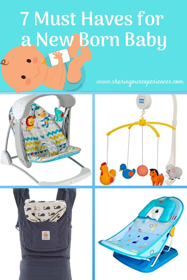 must haves for new born baby