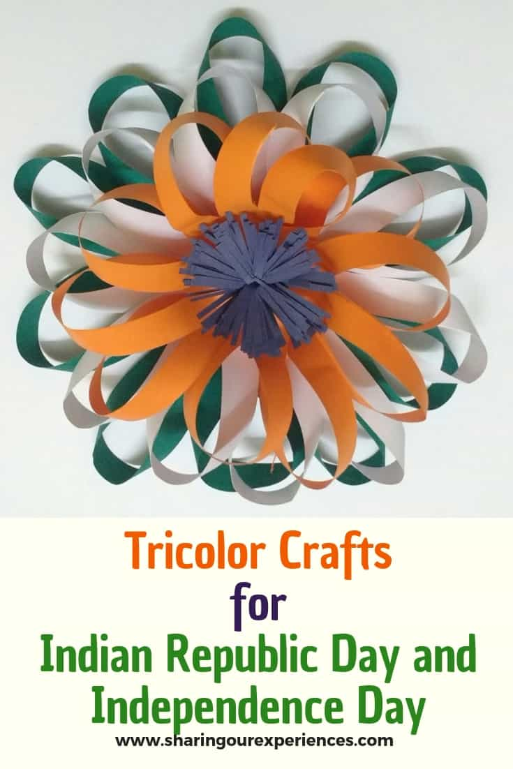 Easy Tricolor Flower_pin