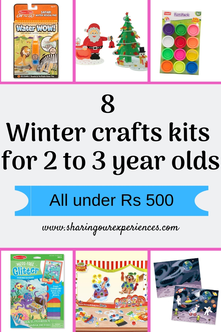 winter craft kits for kids