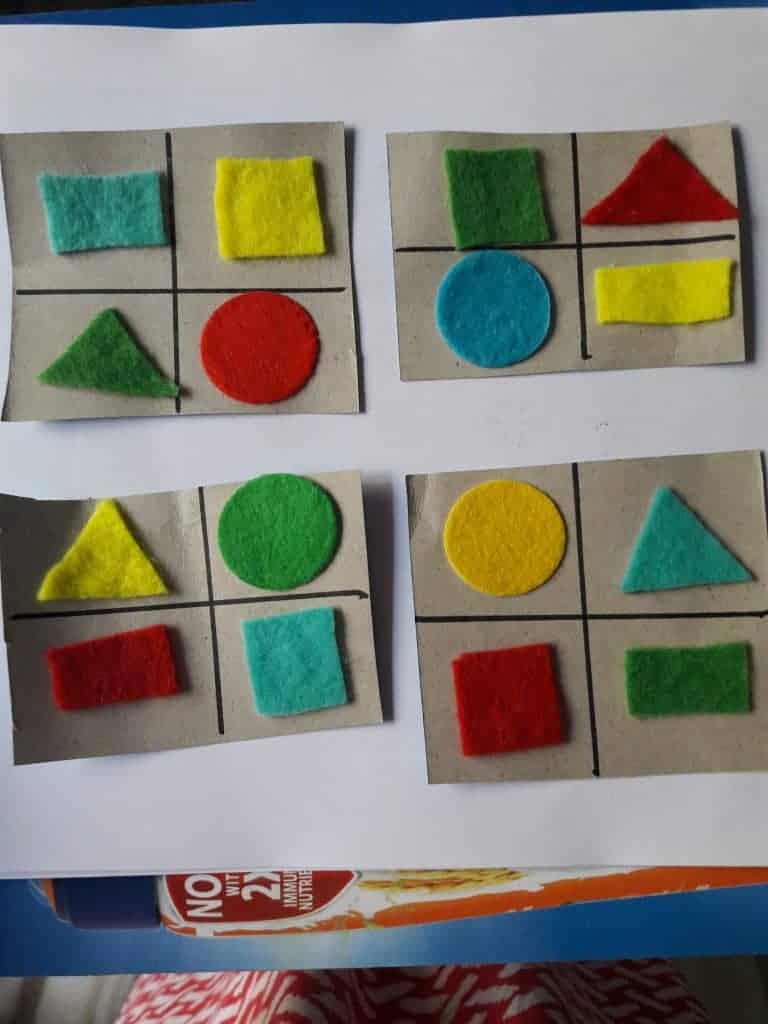 easy Visual Spatial Intelligence activities for kids