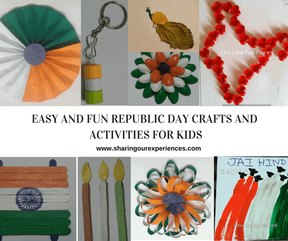 13 Fun Republic Day Activities And Crafts For Kids Sharing Our