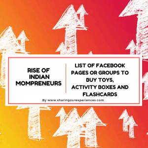 List of Facebook page or groups to buy Toys, activity boxes and Flashcards  | Rise of Indian Mompreneurs