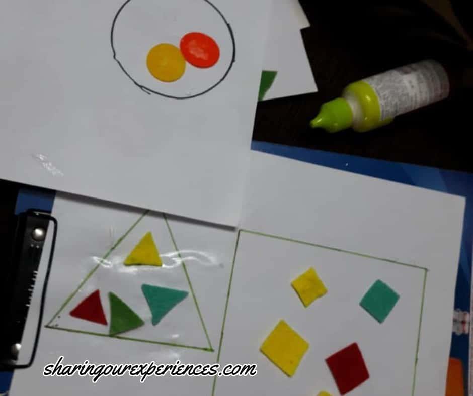 easy Visual Spatial Intelligence activities for preschoolers and toddlers kids
