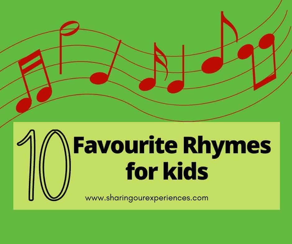 Ten Favourite Rhymes for kids