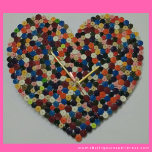 13 valentines day crafts Quilling Clock