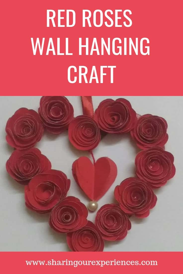 Handmade Wall Hanging Valentines Day craft_pin