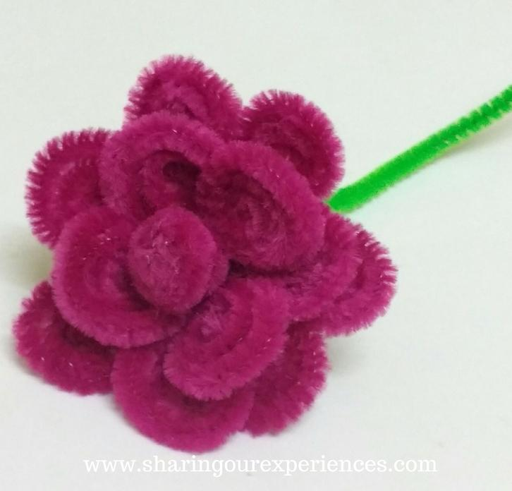 pipe cleaners rose 10