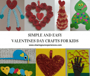 16 Simple and Easy Valentines Day Crafts for kids