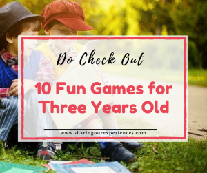 10 fun games for three years old