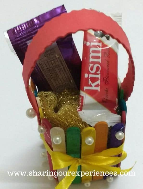 Diy popsicle sticks basket for easter handmade gift ideas negle Image collections