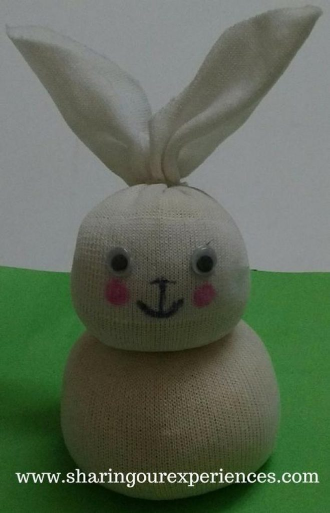No Sew Easter BUNNY from socks | Easy Handmade gifts