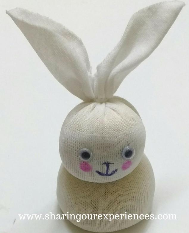 No sew easter bunny from socks easy handmade gifts negle Gallery