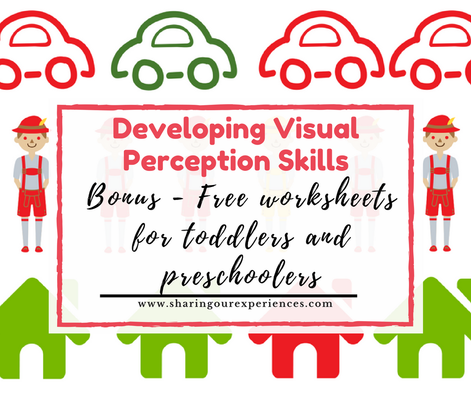 Easy Visual Discrimination Free Worksheets for Toddlers Preschoolers ...