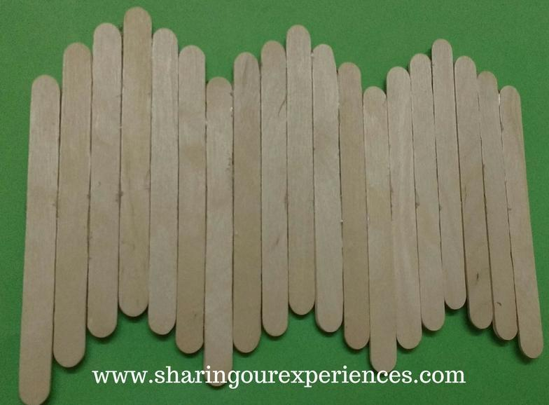How To Make A Beautiful Homemade Wall Hanging By Ice Cream Stick