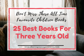 25 Best Books for Three Years Old - Do not miss these all time favourite Children Books