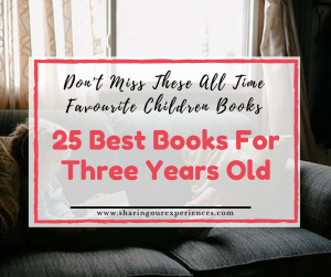 25 best books for three years old