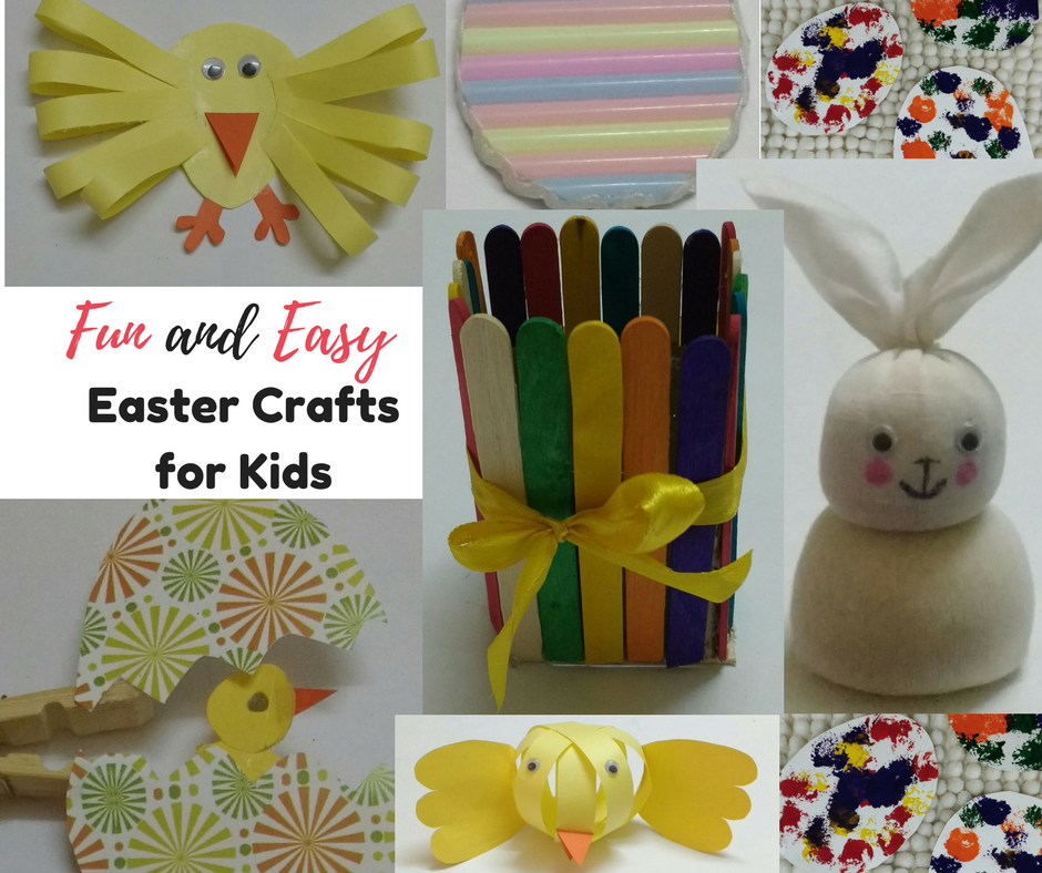 14 Fun And Easy Easter Crafts For Kids Sharing Our Experiences