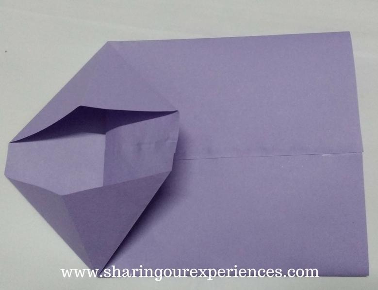 Ribbon and Heart from paper bag (SQUARE ORIGAMI CREATORS ...   598x779