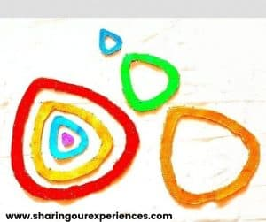 Easter egg puzzle rainbow for preschooler, toddler and early years. Perfect for story time and engaging little ones