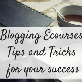 Blogging Ecourse