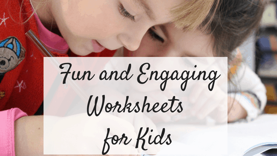 Fun and Engaging Worksheets for kids