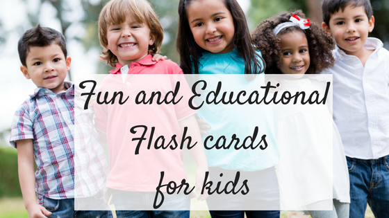 Fun and educational flash cards for kids
