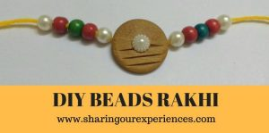 Wooden Bead Rakhi for Big brothers | Easy and fun Rakhi craft #Kidscrafts #DIY #HandmadeRakhi