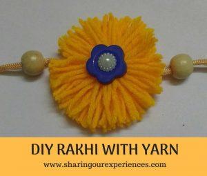 DIY Handmade Yarn Rakhi | Handmade with love #Rakhi #diy #handmade #kidscrafts
