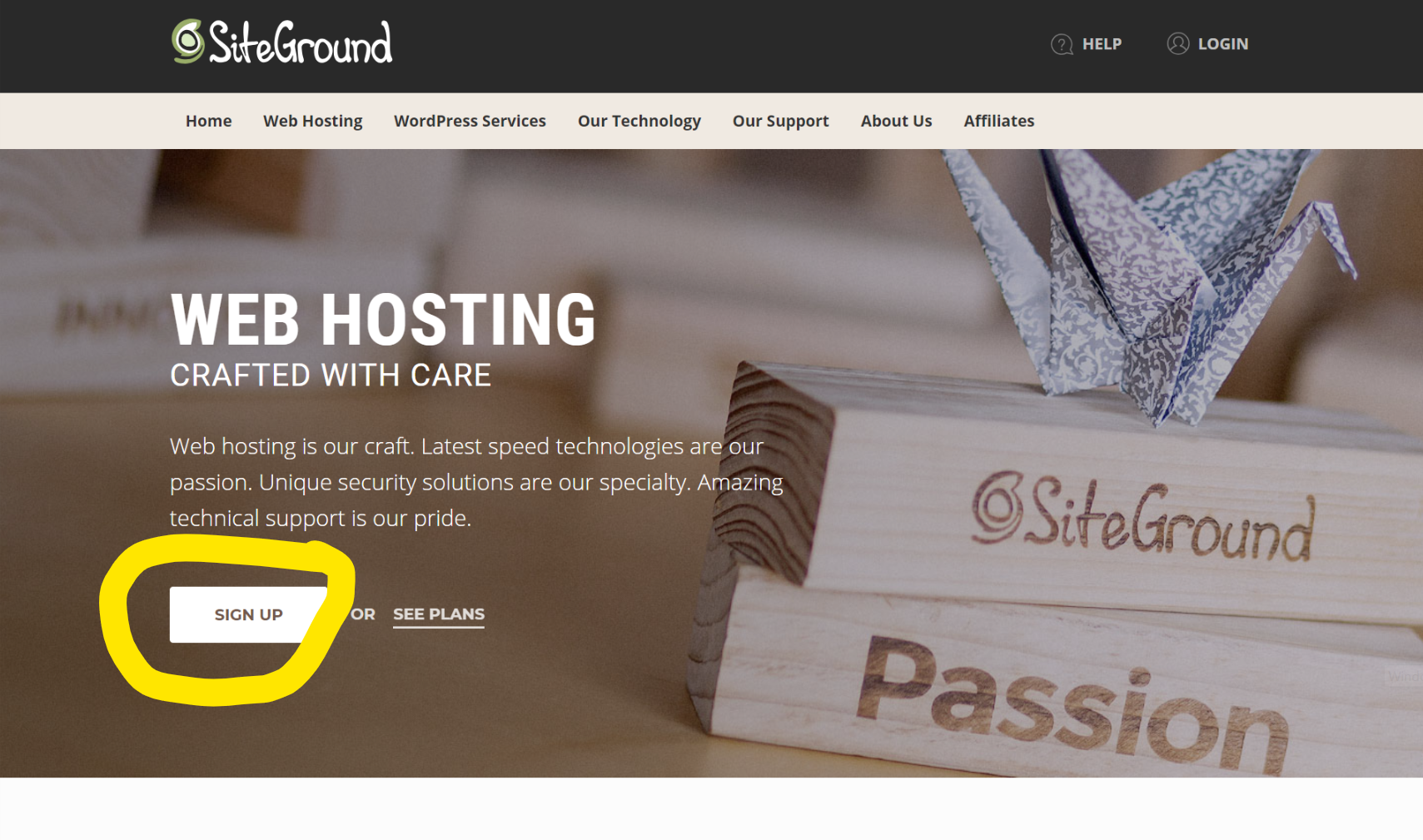 How to start a WordPress Blog using Siteground 1