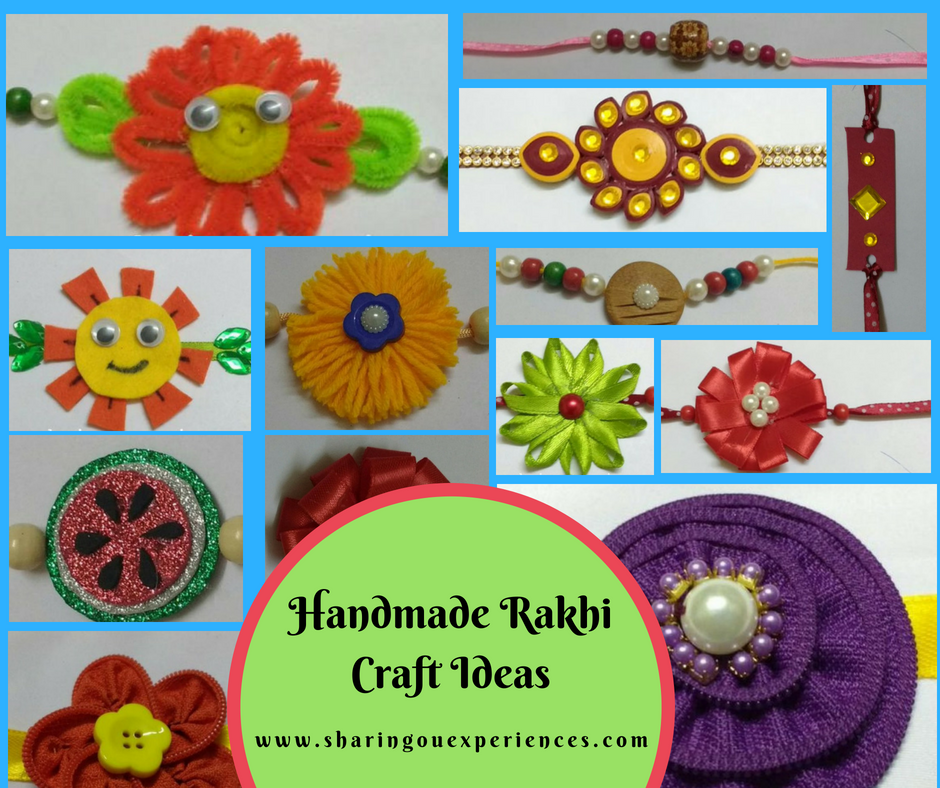 Diy Handmade Rakhi Ideas For Kids For This Rakshabandhan Best