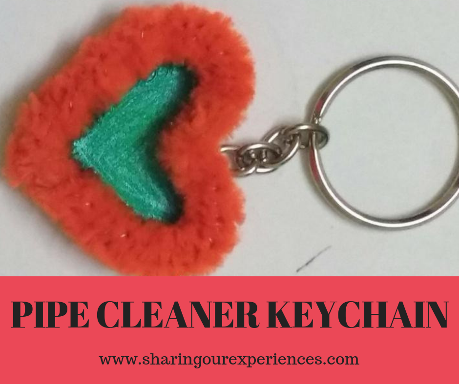 Pipe Cleaner Key Chain Craft For Kids And Adults Kidscrafts