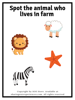 SOE Store Kids Animals Flashcards for Kids (with Real Pictures) Learn Farm Animals, Sea Animals and Wild Animals Easily 3