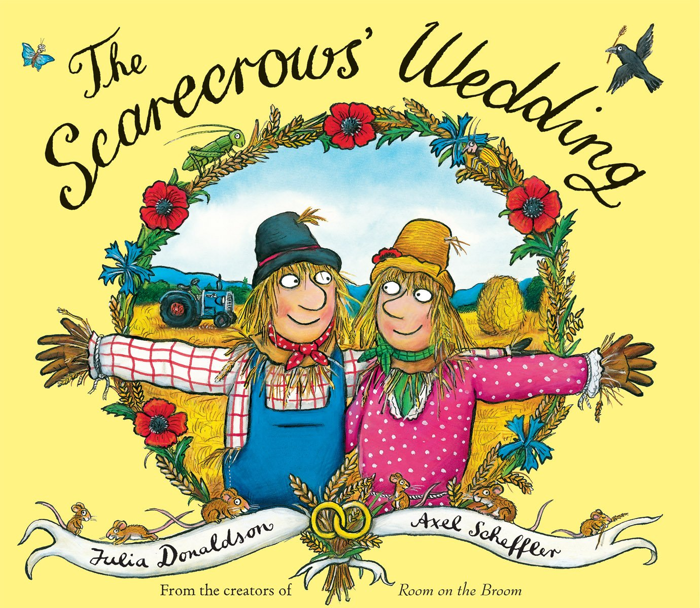The Scarecrow s wedding Fall books for kids