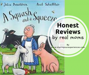 A Squash and a Squeeze by Julia Donaldson Book Review | Honest Reviews by Real Moms #Kidlit #Childrensbooks #Bookreview #JuliaDonaldson