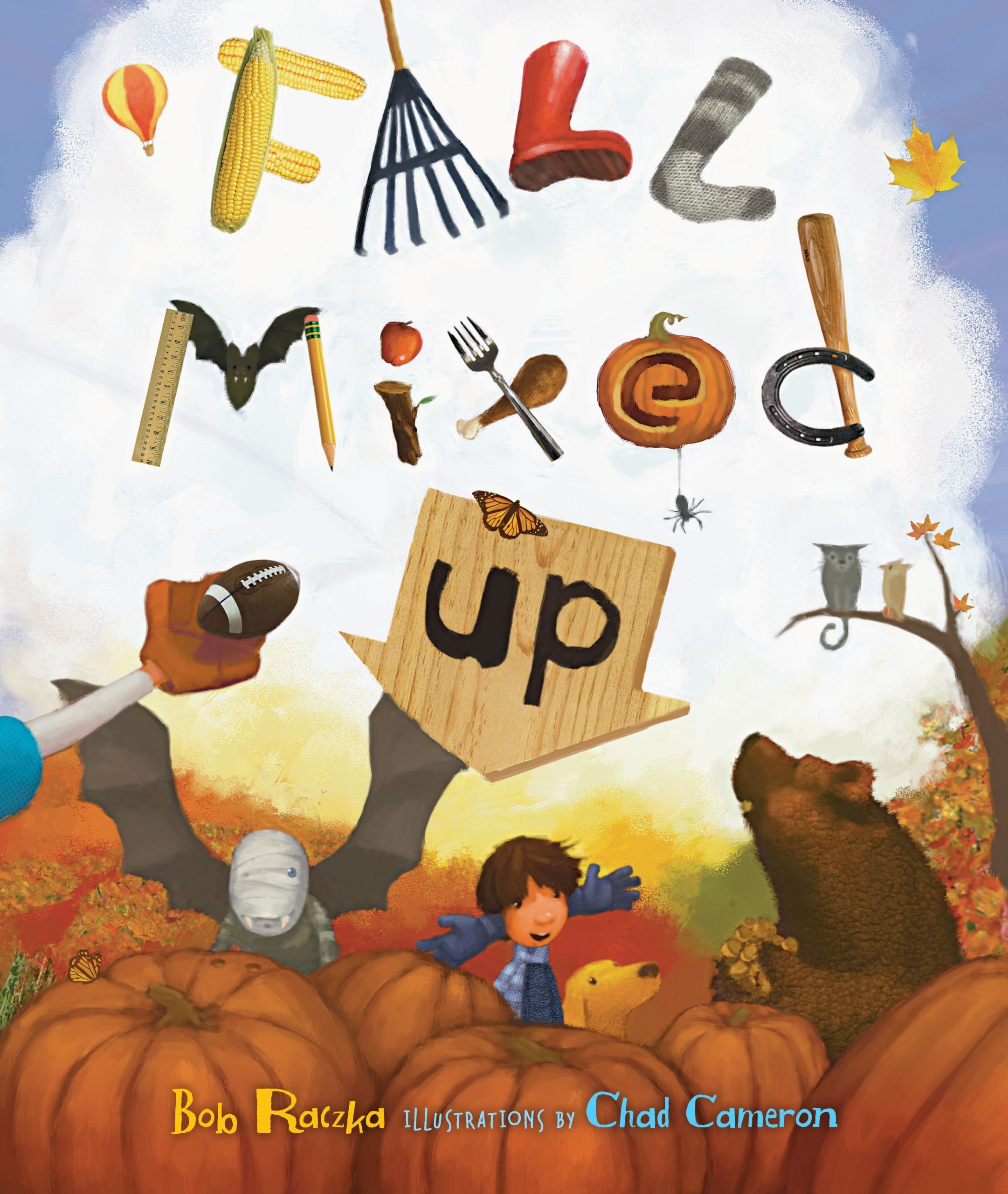 fall mixed up popular Fall books for kids