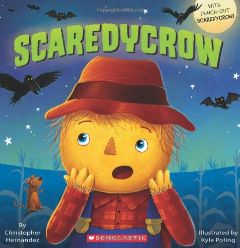 scaredycrow, fall books for kids