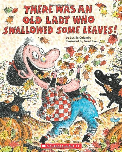 there was an old lady who swallowed some leaves,Fall books for kids