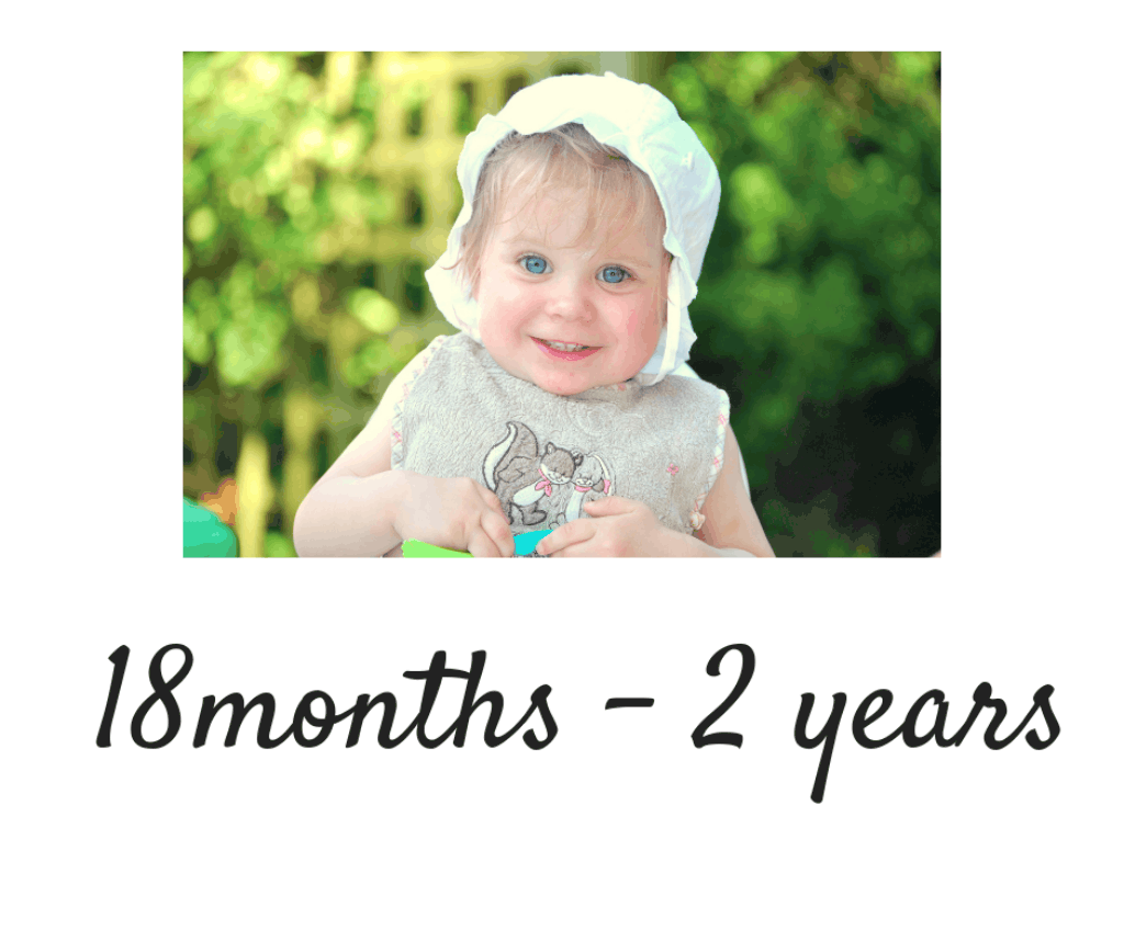 18 months to 2 years toddlers kids