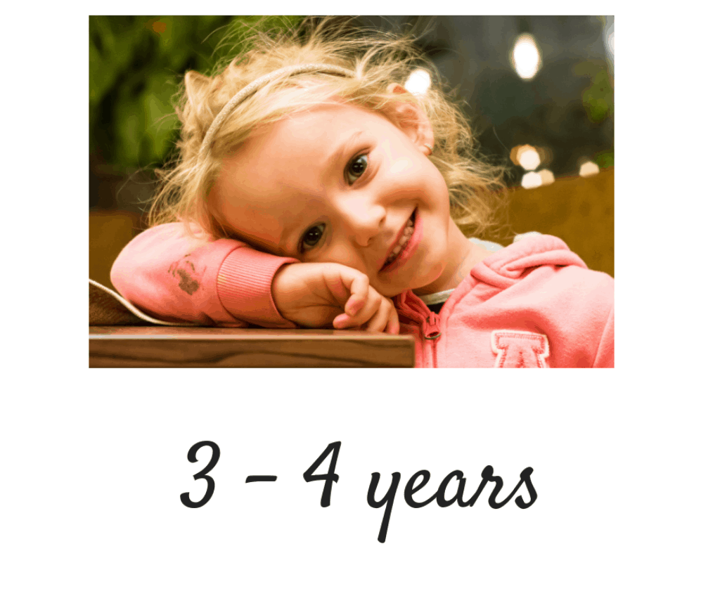 3 -4 years