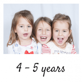 Age 4 - 5 years