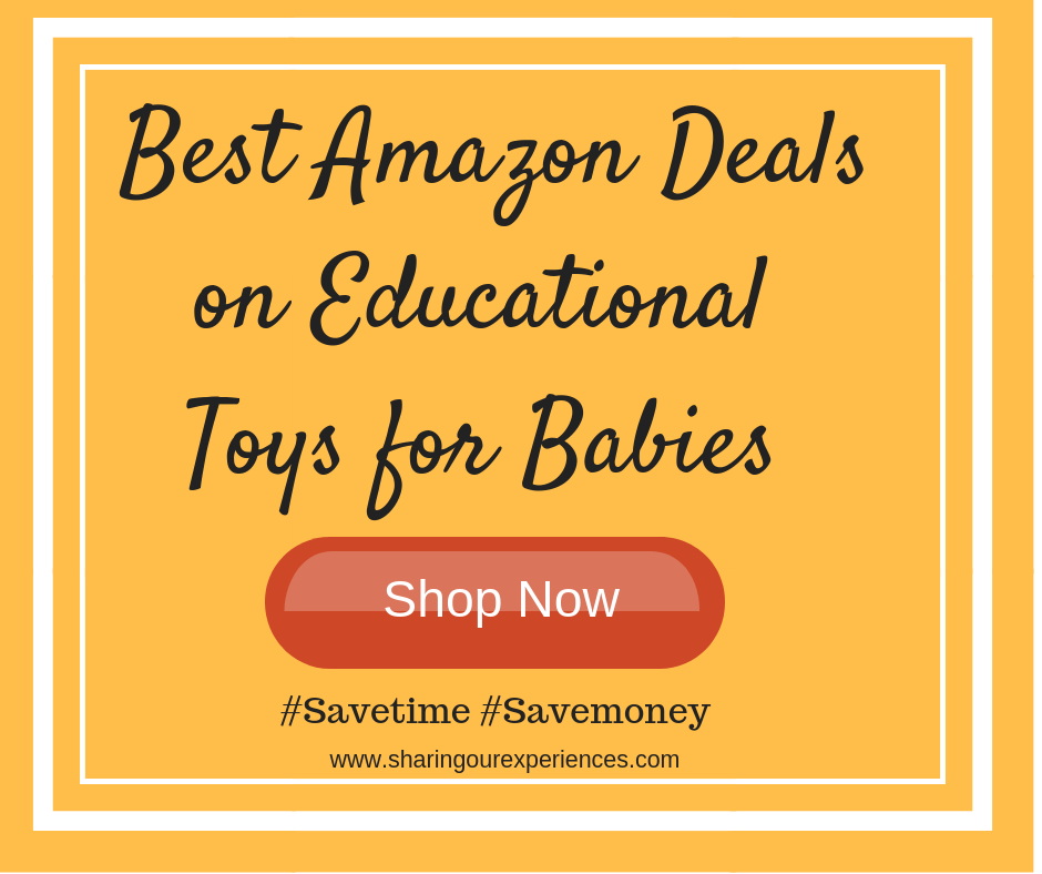 Best Amazon Deals on Educational Toys for babies