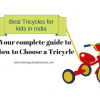 Best tricycles for 2 year old toddlers and kids in India