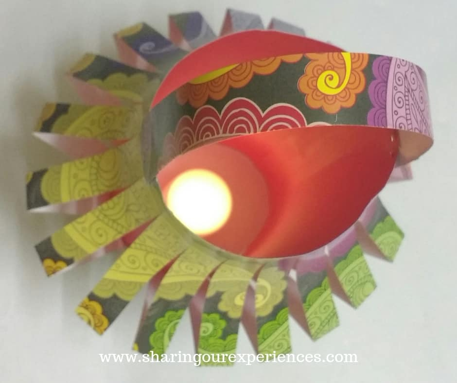 How to make DIY Kandil For Diwali
