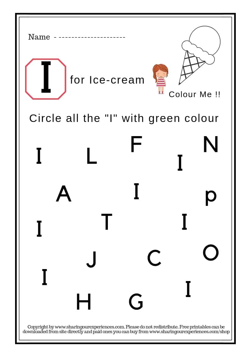 graphic relating to I Spy Printable Worksheets named I Spy Cash Alphabets Worksheets for youngsters 3 years and more than - Alphabets recogition ( Deal with Web site + 29 Worksheets) #Printable #Worksheets